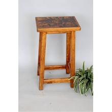 "#163 Counter Stool 15.5""wx12""dx24""h"
