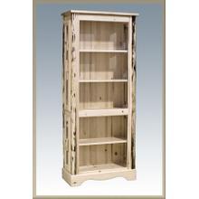 Montana Log Curio Cabinet