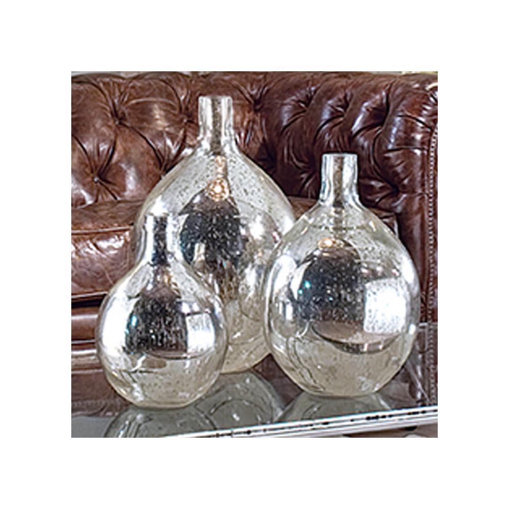 See Details - Wine Spheres In Ant. Mercury (set of 3)