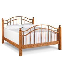 See Details - Double Bow Bed, Queen