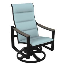 Brazo Padded Sling High Back Swivel Rocker