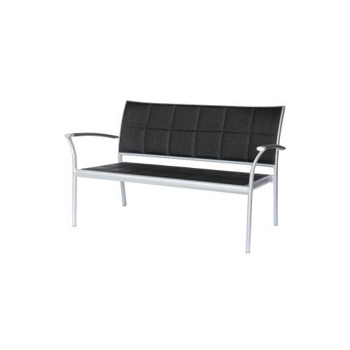 Ratana - New Roma (Padded Sling) Love Seat w/ Aluminum Arm