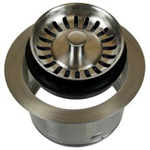 Complete Stopper & Strainer Unit Waste Disposer Trim - Extended Flange (Perfect Grind® compatible) - Oil Rubbed Bronze