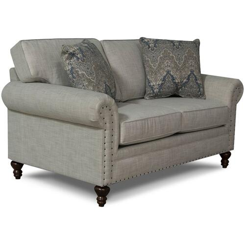 5R06N Renea Loveseat with Nails