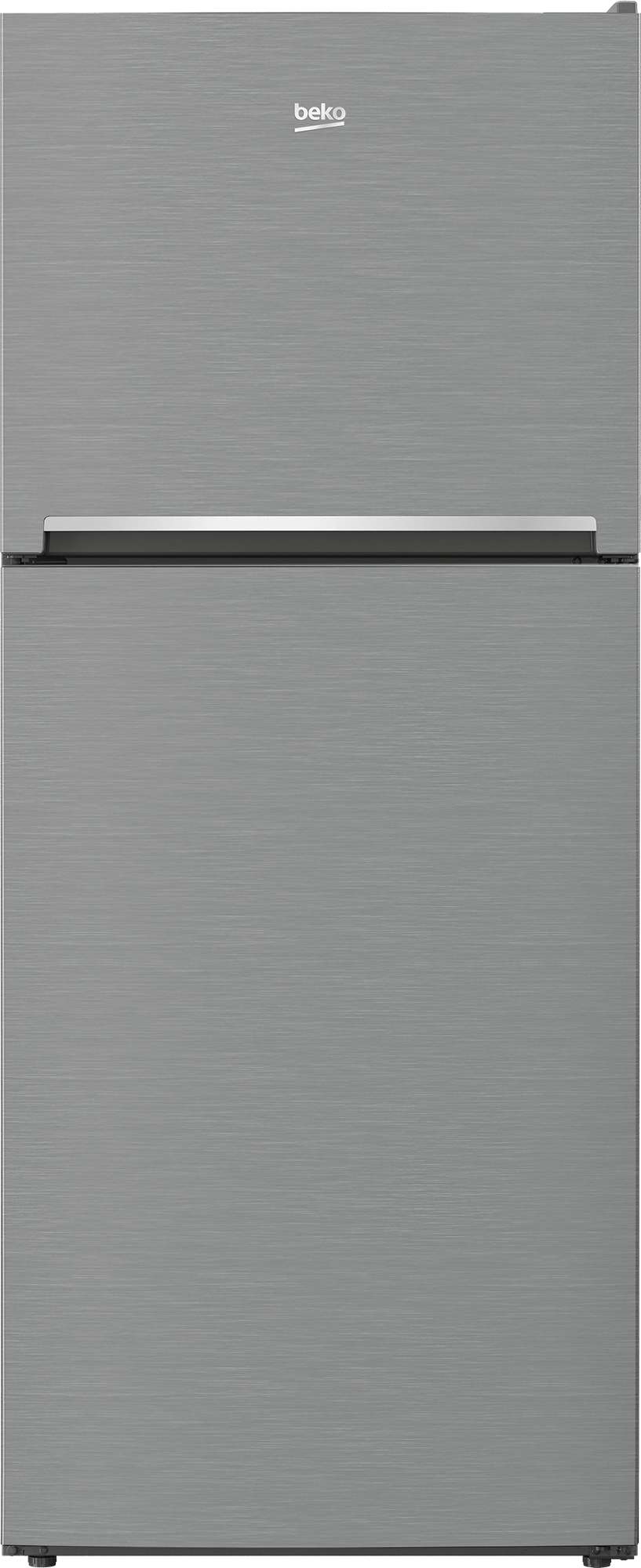 "Beko28"" Freezer Top Stainless Steel Refrigerator"