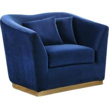 "Arabella Velvet Chair - 43.5"" W x 35"" D x 32.5"" H"