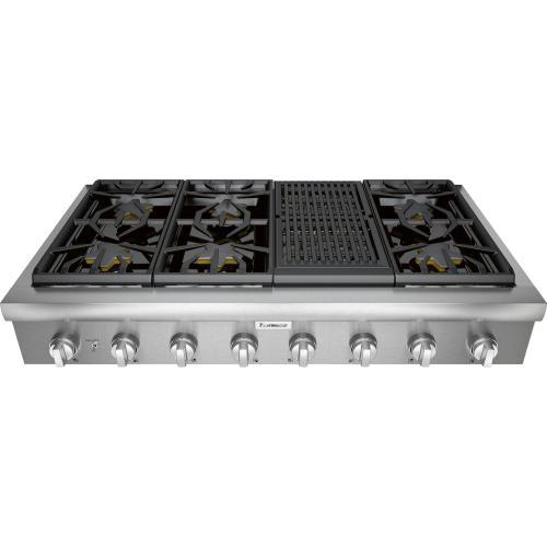 Thermador - Gas Rangetop 48'' Stainless Steel PCG486WL