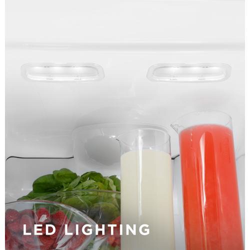 GE Appliances - GE® 25.3 Cu. Ft. Side-By-Side Refrigerator