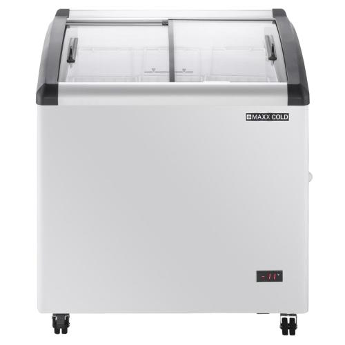 MXF32CHC-3 Chest Freezer Display, Curved Top