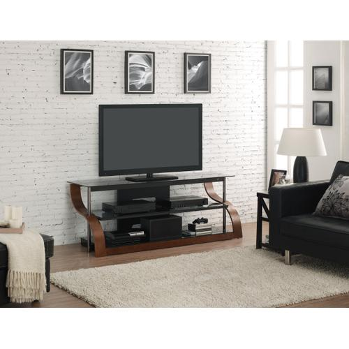 """65"""" TV Stand for TVs up to 73"""", Espresso"""