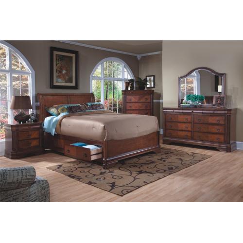 Sheridan Queen Storage Bed