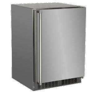 Marvel24-In Outdoor Built-In All Freezer with Door Style - Stainless Steel