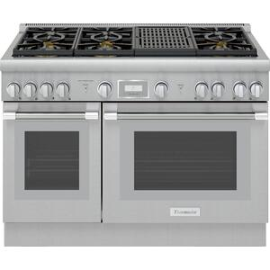Thermador48-Inch Pro Harmony® Standard Depth Dual Fuel Range