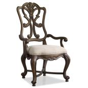 Rhapsody Wood Back Arm Chair - 2 per carton/price ea