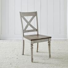 View Product - X Back Wood Seat Side Chair (RTA)