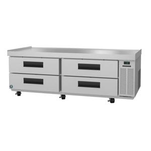CR72A, Refrigerator, Two Section Chef Base Prep Table, Stainless Drawers