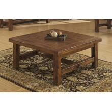 Emerald Home Chambers Creek Square Cocktail Table Brown T4120-05
