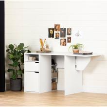 Crea - Expandable Craft Table, Pure White