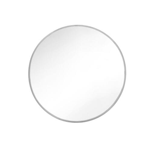 Gallery - Kit Round Mirror Satin Nickel