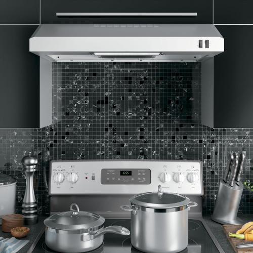 "GE 30"" 2 Speed Under the Cabinet Vent Hood Stainless Steel JVX3300SJSSC"