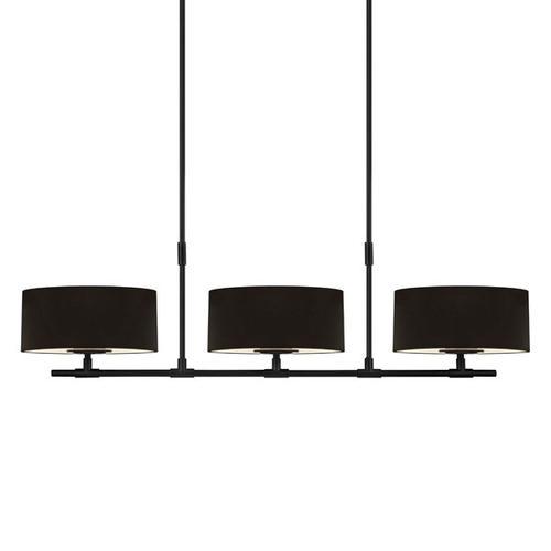 Sonneman - A Way of Light - Soho Bar Pendant [Size=3-Light, Color/Finish=Satin Black]