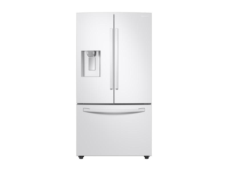 Samsung23 Cu. Ft. 3-Door French Door, Counter Depth Refrigerator With Coolselect Pantry™ In White