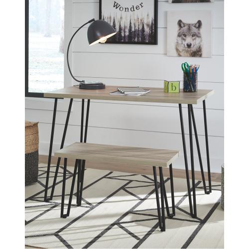 Signature Design By Ashley - Blariden Desk With Bench