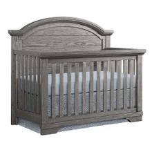 Product Image - Foundry Arch Top Convertible Crib  Brushed Pewter Brushed Pewter
