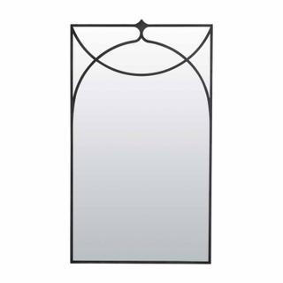 Swan Mirror- Pewter
