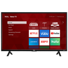 "TCL 49"" Class 3-Series FHD LED Roku Smart TV- 49S303"