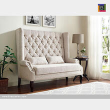 Loveseat Chair Beige