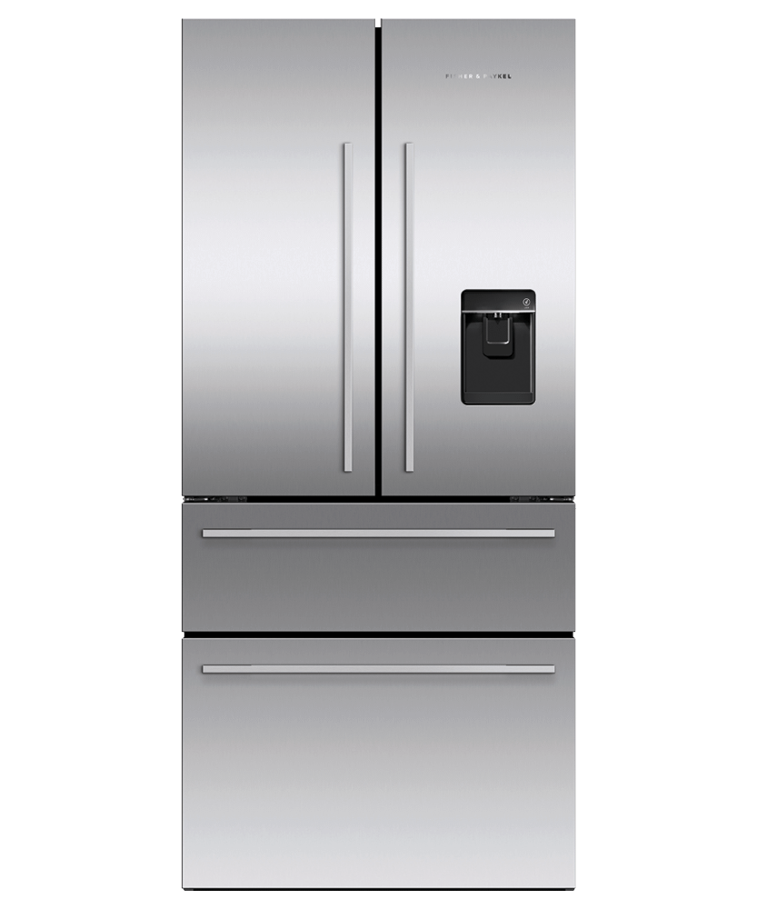 "Freestanding French Door Refrigerator Freezer, 32"", 16.9 cu ft, Ice & Water"