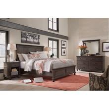 See Details - 6 Piece Set (Queen Non-Storage Bed, Dresser, Mirror and Nightstand)