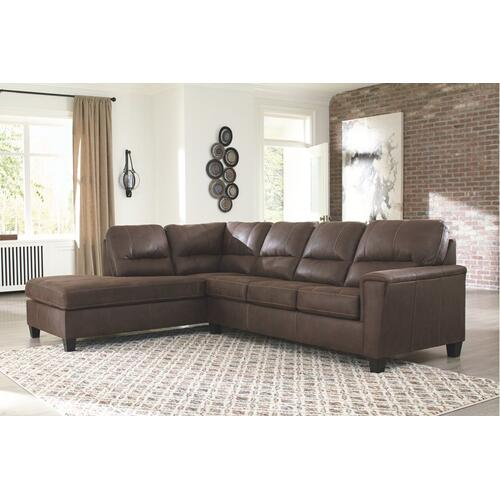 Signature Design By Ashley - Navi 2-piece Sectional With Chaise