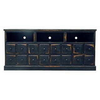 Stone Brown 2 Door 4 Drawer TV