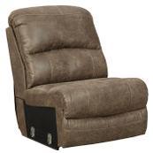 Segburg Armless Chair With Drop Down Table