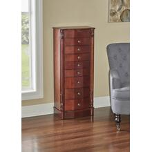 8-drawer Jewelry Armoire, Cherry