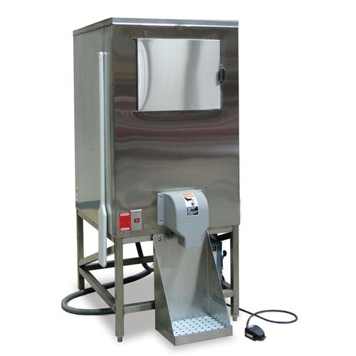 """HCD-500B, 30"""" W Ice Bagging System with 647 lbs Capacity - Stainless Steel Exterior"""