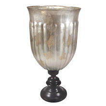 Antique Silver-glass Hurricane