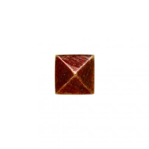"""Rocky Mountain Hardware - Small Square Clavos 7/8"""" x 7/8"""" - DC2 Silicon Bronze Brushed"""