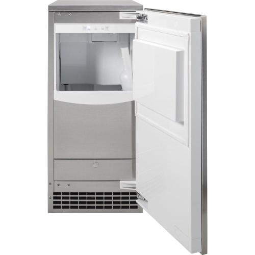 GE Profile - Ice Maker 15-Inch - Gourmet Clear Ice