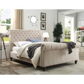 Swanson Queen Bed, Sand