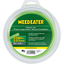 """Weed Eater Trimmer Lines .080"""" x 200' Round Trimmer Line"""