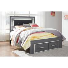 Lodanna Full Storage Footboard