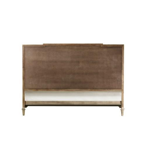 Emerald Home Interlude Queen Tufted Upholstered Bed Kit White Linen B560-13-k