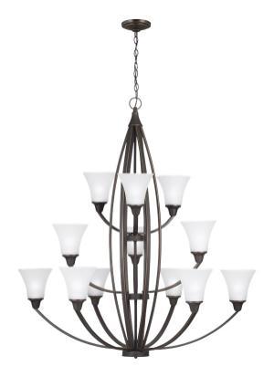 Twelve Light Chandelier Product Image