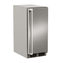 15-In Outdoor Built-In Crescent Ice Machine with Door Style - Stainless Steel