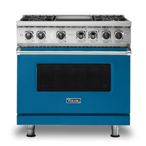 "36"" Dual Fuel Range - VDR536 Viking 5 Series Product Image"