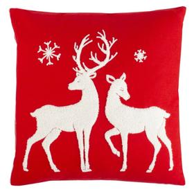 Mitzi Pillow - Red / White