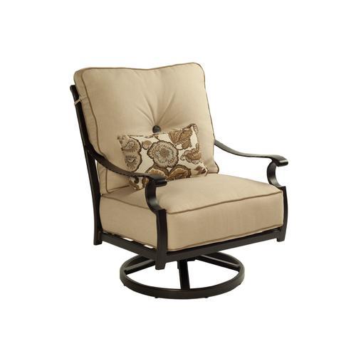 Castelle - Monterey Cushioned Lounge Swivel Rocker